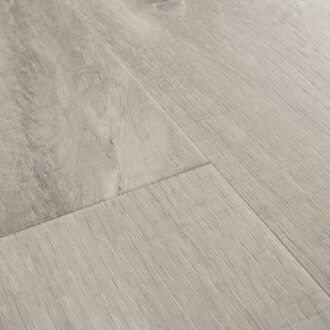 Quick-Step Alpha Canyon Oak Grey With Saw Cuts AVSP40030 Rigid Vinyl Small Planks