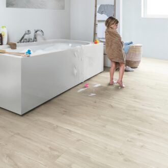 Quick-Step Alpha Canyon Oak Beige AVSP40038 Rigid Vinyl Small Planks