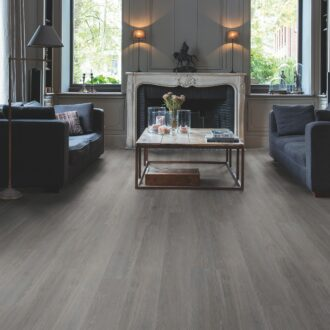 Quick-Step Alpha Silk Oak Dark Grey AVSP40060 Rigid Vinyl Small Planks