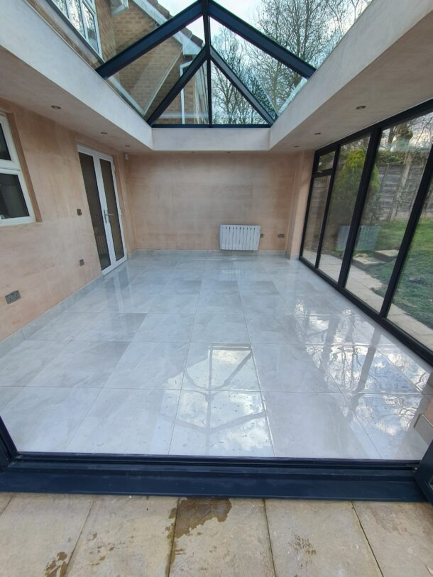 Armani Blanco Polished Porcelain Floor Tiles 600mm x 600mm