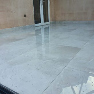 Armani Blanco Polished Porcelain Floor Tiles 600mm x 600mm