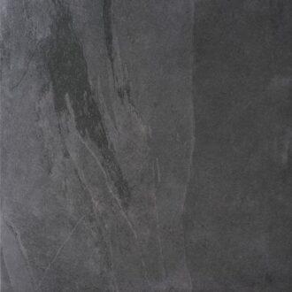 Lajedo 60×60 Black Matt Porcelain Floor Tiles R11 Anti Slip Rating