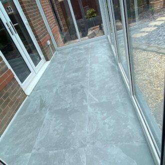 Lajedo 60×60 Grey Matt Porcelain Floor Tiles R11 Anti Slip Rating