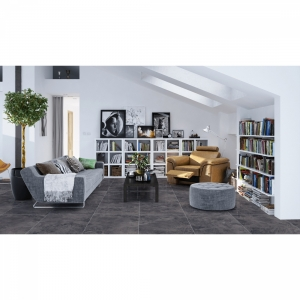 Oceanic 600 x 600 Nero Polished Porcelain Floor Tiles