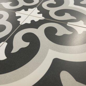 Lancaster 45 x 45 Grey Matt Porcelain Floor Tiles