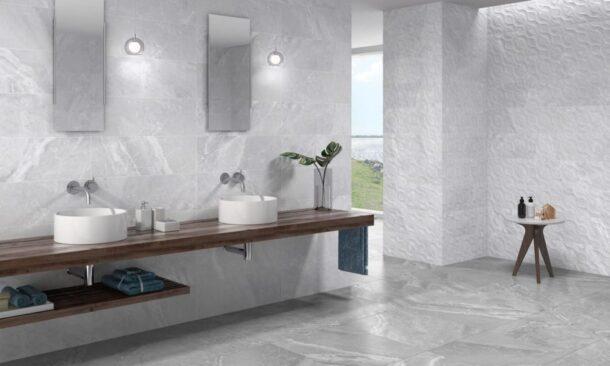 Alabama Perla Matt 600mm x 600mm Porcelain Floor Tiles
