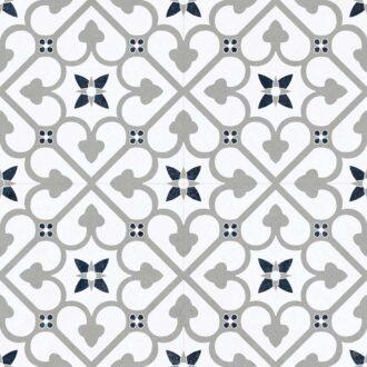 Brighton 45 x 45 Grey Matt Porcelain Floor Tiles