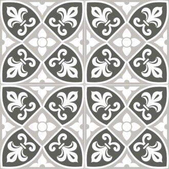 Bristol 45 x 45 Grey Matt Porcelain Floor Tiles