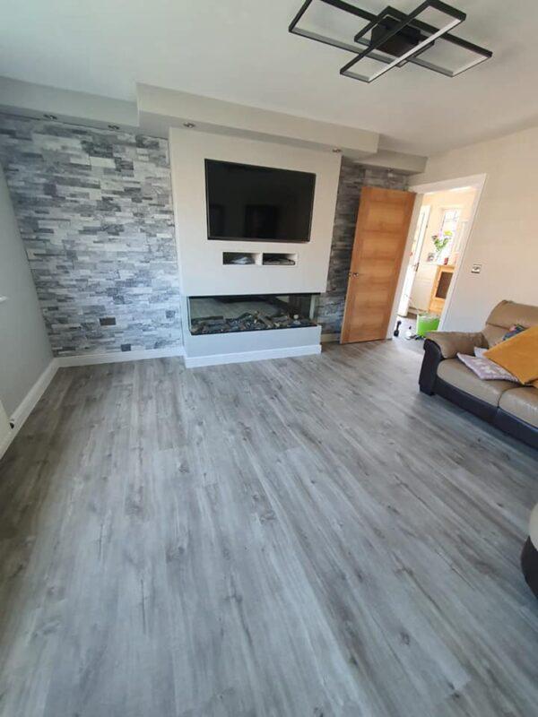 Living room lvt