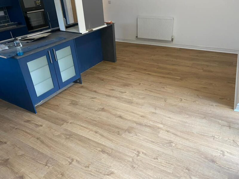 Quickstep LVT kitchen area