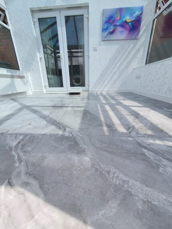 conservatory tiling chorley