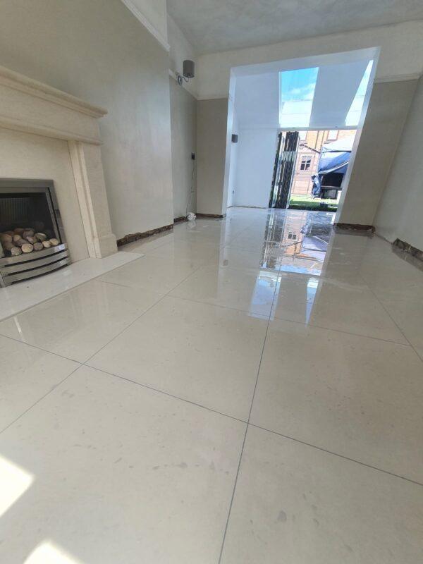 floor tiling project