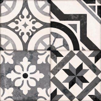 Salisbury 45 x 45 Grey Matt Porcelain Floor Tiles